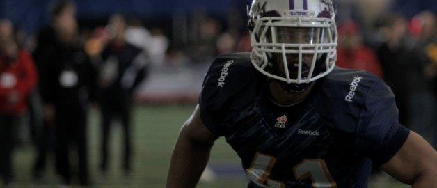 CFL calls two Gaiters Tuesday night