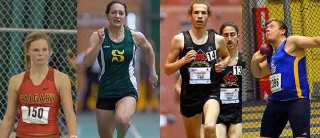Béliveau, Oudenaarden, Thibeault and Millman named U SPORTS Track & Field Athletes of the Year