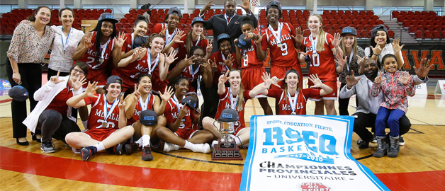 Martlets rally with stunning flair to win seventh consecutive Quebec crown