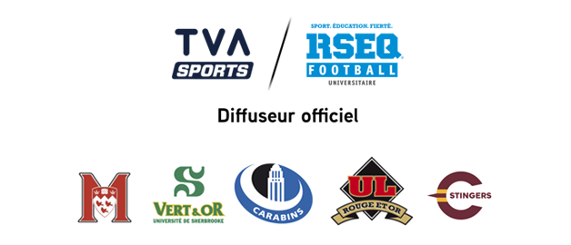 Le football universitaire du RSEQ diffusé exclusivement à TVA Sports jusqu'en 2023!