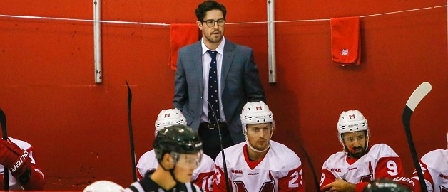 Heelis appointed interim head hockey coach at McGill
