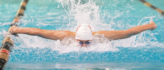Swimmers Danyluk and Secchi quadruple golden as McGill sweeps Quebec Cup meet
