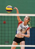 Volleyball universitaire féminin division 2 RSEQ - Allison Servant est l'Athlète par excellence