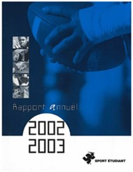 Rapport annuel 2002-2003