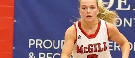 Rookie Guerin rocks as Martlet hoopsters roll over Gaiters, win streak now at six