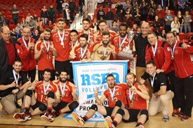 Lancement de la saison de volleyball universitaire masculin
