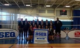 Résultats du championnat provincial scolaire de volleyball juvénile féminin division 1