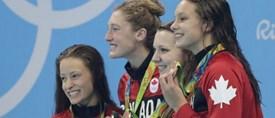 Trois médailles olympiques pour des étudiantes de l'UdeM