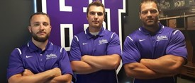 Gaiters announce grid iron staff