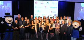 Lauréats et lauréates du 34e Gala d'excellence scolaire