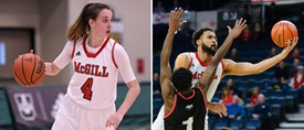 NATIONAL BASKETBALL CHAMPIONSHIPS: McGill sweeps both men's and women's quarter-finals