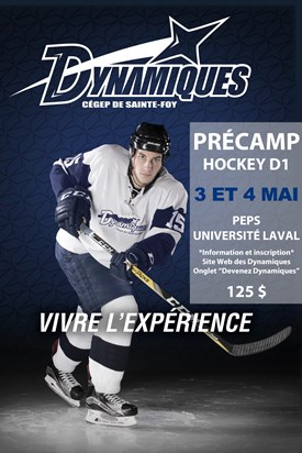 Pré-camp – Hockey collégial masculin, Cégep de Sainte-Foy