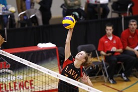 Volleyball universitaire: le Rouge et Or surpris par McGill