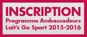 Inscription Programme Ambassadeurs